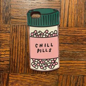 Chill Pills silicone iPhone 7/8 case